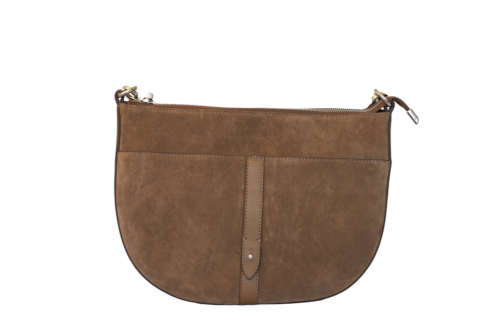 Decadent Skylar Small Cross Body Suede Latte
