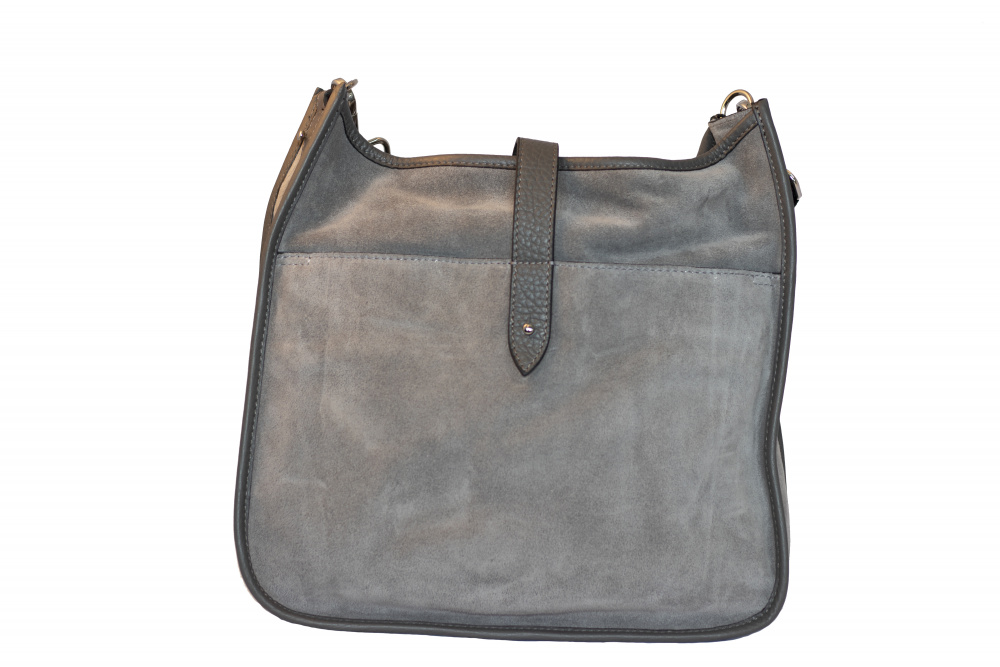 Decadent Kylie Cross Body Suede Grey
