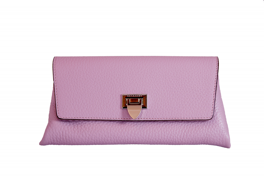 Decadent Nora Small Clutch Pale Violet
