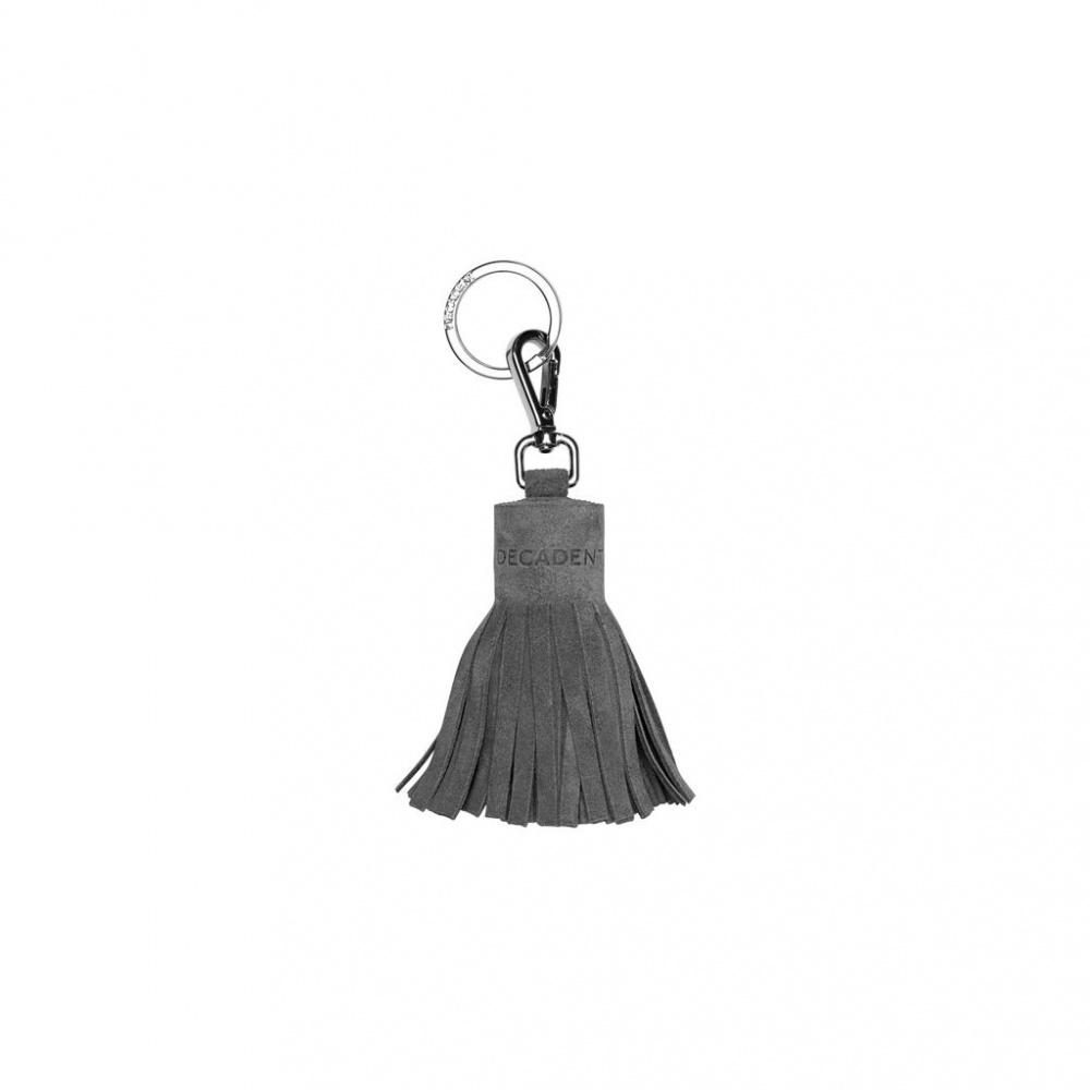 Decadent Annabelle Small Tassel Grey