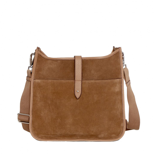Decadent Kylie Cross Body Suede Latte