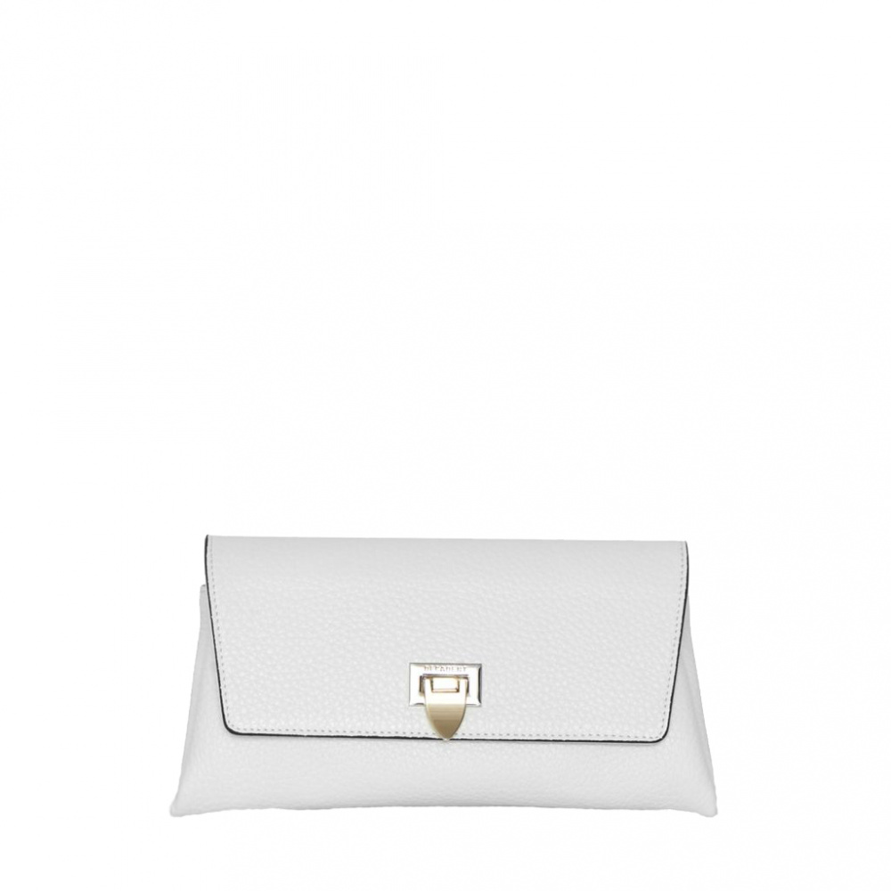 Decadent Nora Small Clutch White