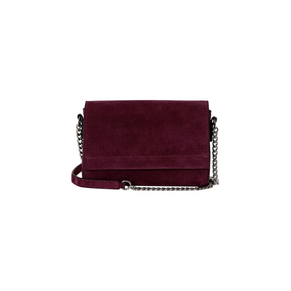 Decadent Evelyn Cross Body Suede Oxblood
